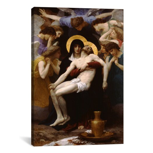 iCanvas 'Pieta 1876' by William-Adolphe Bouguereau Painting Print on Canvas