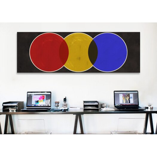 iCanvas Modern Art Street Light Graphic Art on Canvas