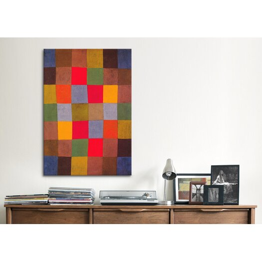 iCanvas 'New Harmony' by Paul Klee Painting Print on Canvas