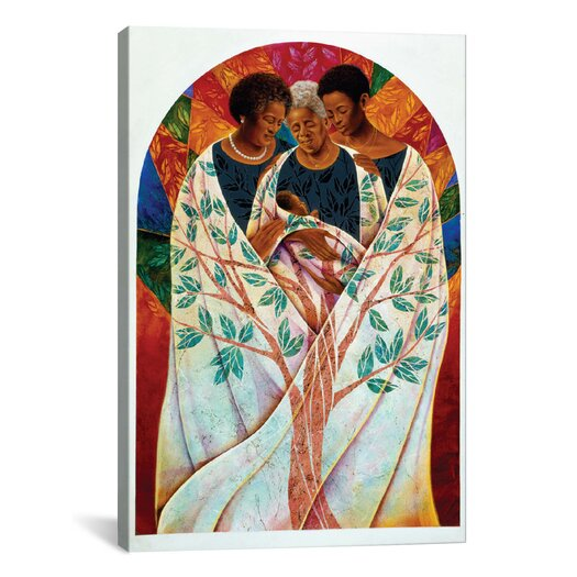 iCanvas 'Family Tree' by Keith Mallett Painting Print on Canvas