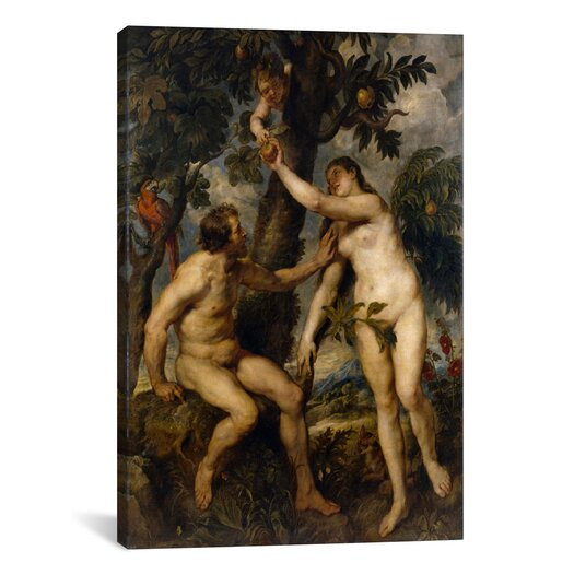 iCanvasArt 'The Fall of Man' by Peter Paul Rubens Painting Print on Canvas