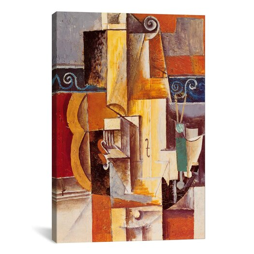 iCanvas 'Violin and Guitar' by Pablo Picasso Painting Print on Canvas