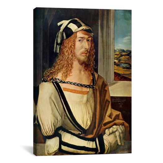 iCanvas 'Self-portrait' by Albrecht Dürer Painting Print on Canvas
