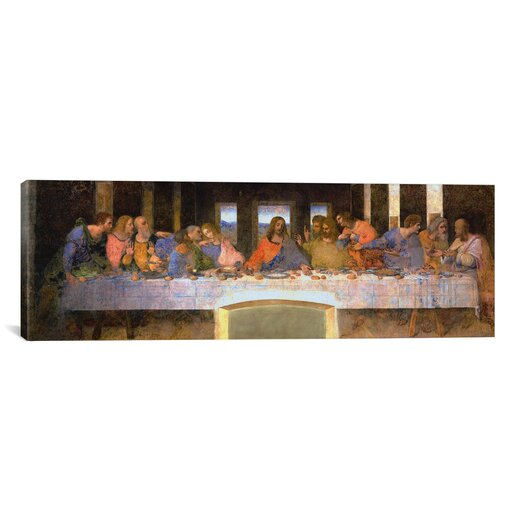 iCanvas 'The Last Supper' by Leonardo Da Vinci Painting Print on Canvas