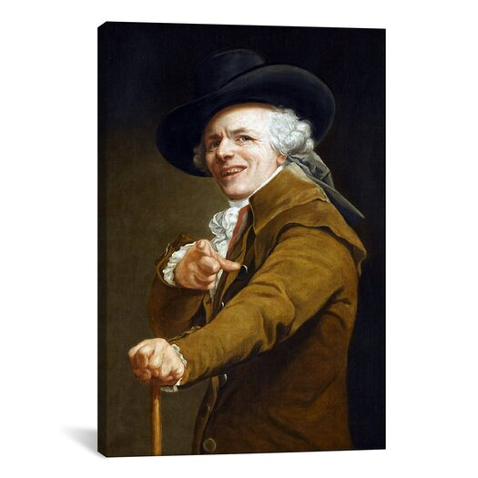 iCanvas Self-Portrait' by Joseph Ducreux Painting Print on Canvas