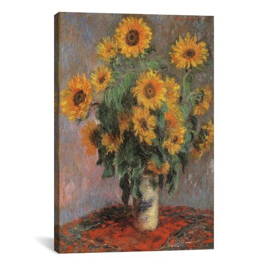 "iCanvas ""Sunflowers 1889"" by Vincent Van Gogh Canvas Painting Print"