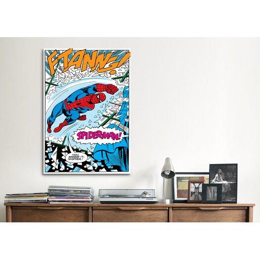 iCanvas Marvel Comics Spiderman Panel B Graphic Art on Canvas