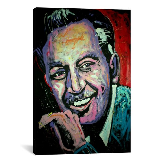 iCanvas Walt Disney 2 Canvas Print Wall Art