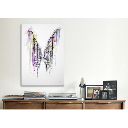 iCanvas 'This City Sleeps' by Marc Allante Graphic Art on Canvas