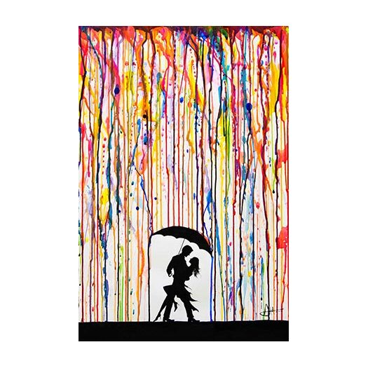 iCanvas 'Tempest' by Marc Allante Graphic Art on Canvas