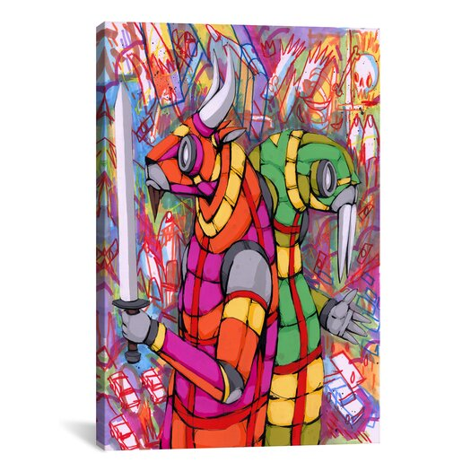 iCanvas Personality Differences Canvas Wall Art by Ric Stultz