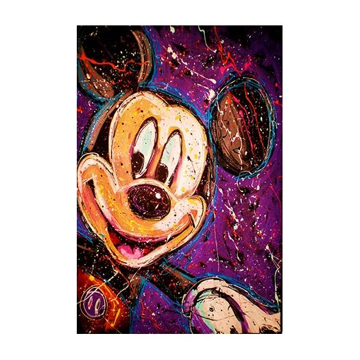 iCanvas Mickey Canvas Wall Art by Rock Demarco