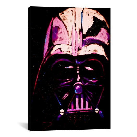iCanvas Darth 002 Canvas Print Wall Art