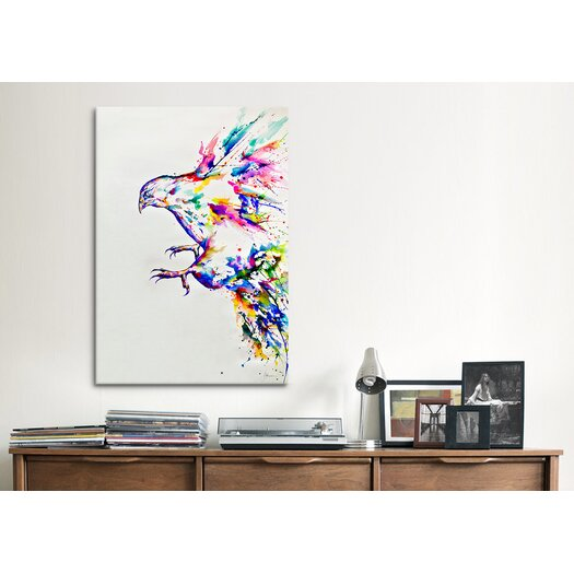 iCanvasArt Hyperion (3) Canvas Print Wall Art