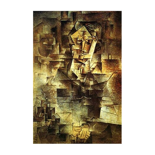 iCanvas Picasso Portrait Of Daniel-Henry Kahnweiler Canvas Print Wall Art