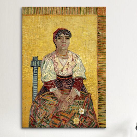 iCanvas 'The Italian Woman' by Vincent Van Gogh Painting Print on Canvas