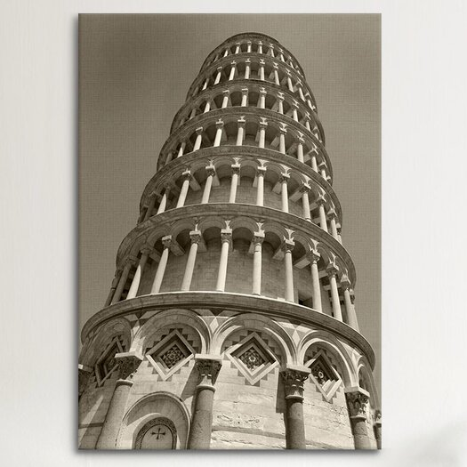 iCanvasArt 'Pisa Tower II' by Chris Bliss Photographic Print on Canvas