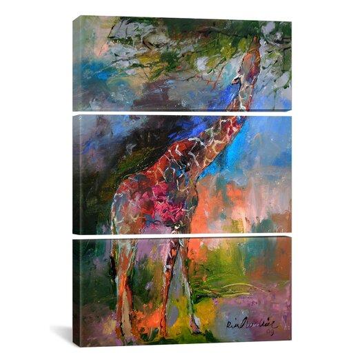 iCanvas Richard Wallich Giraffe 3 Piece on Canvas Set