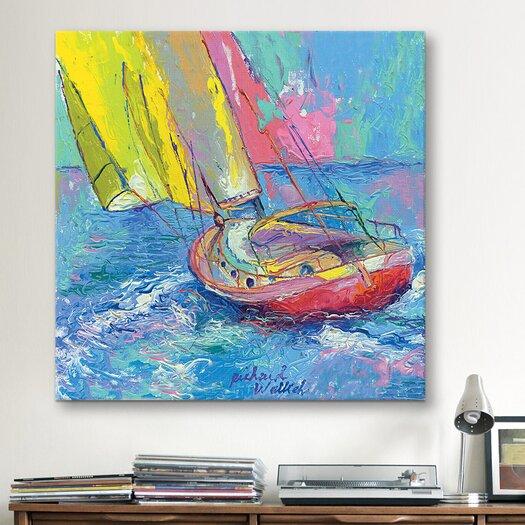 iCanvas Sailboat by Richard Wallich Wall Art on Canvas