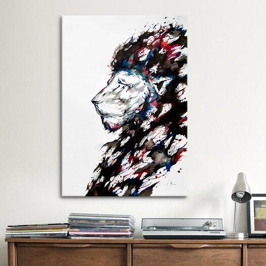 iCanvas Repose by Marc Allante Graphic Art on Canvas