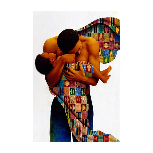 "iCanvas ""Sheltering Love"" Canvas Wall Art by Keith Mallett"