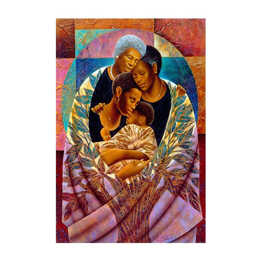 """iCanvasArt """"The Tree of Life"""" Canvas Wall Art by Keith Mallett"""
