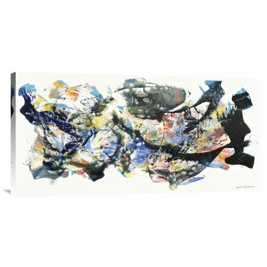 Bentley Global Arts 'Senza Titolo 2012, I' by Nino Mustica Painting Print on Canvas