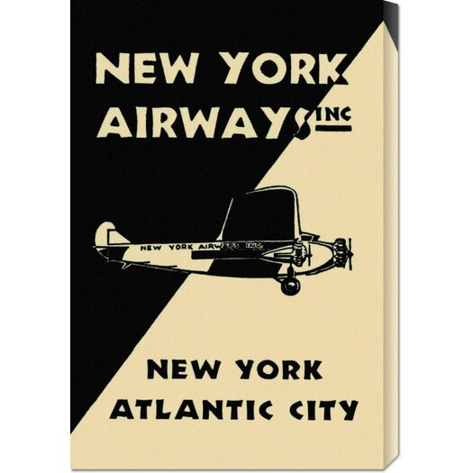Bentley Global Arts 'New York Airways Inc' by Retro Travel Vintage Advertisement on Canvas
