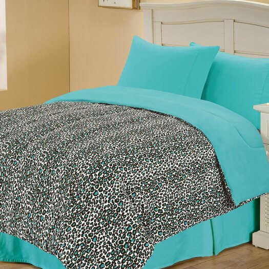 Chic Home Leopard Style Reversible Comforter