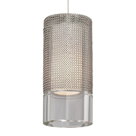 Tech Lighting Manchon 1 Light Monopoint Satin Nickel Pendant