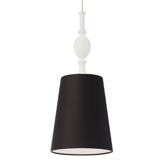 Tech Lighting Kiev 1 Light Mini Pendant with Frosted Fount