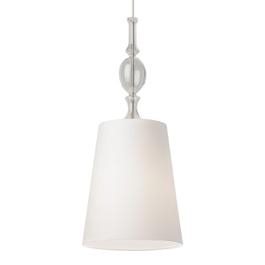 Tech Lighting Kiev 1 Light Mini Pendant with Clear Fount