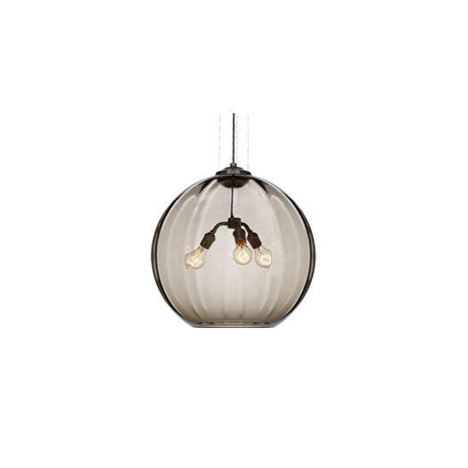 Tech Lighting World 3 Light Globe Pendant