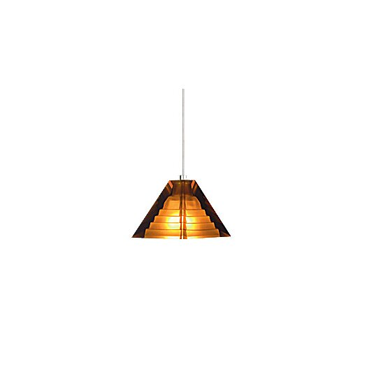 Tech Lighting Pyramid 1 Light Two-Circuit Monorail Pendant