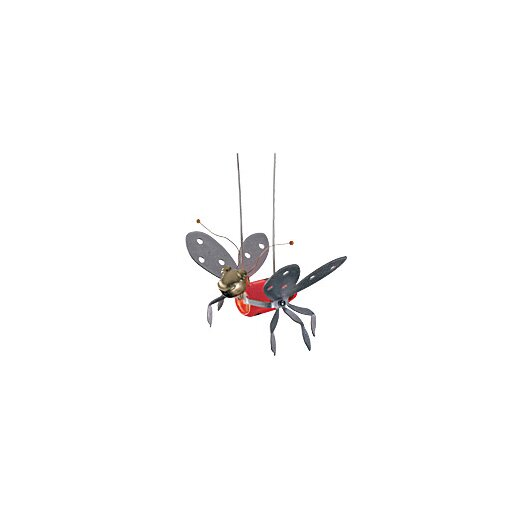 Tech Lighting Dragonfly 1 Light Kable Lite Lady Bugs Functional Art Head