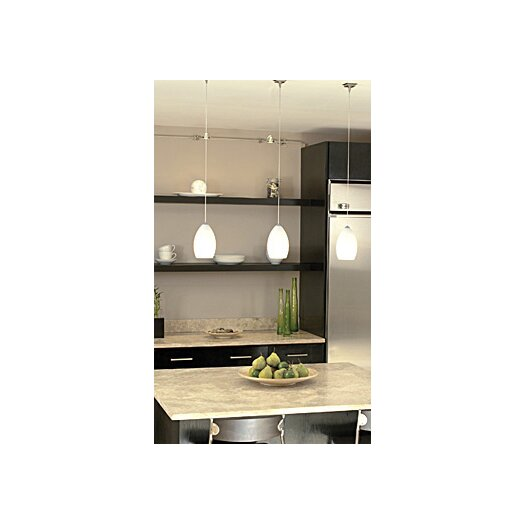 Tech Lighting Firefrost 1 Light Kable Lite Pendant