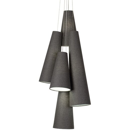 Tech Lighting Spire 5 Light Chandelier
