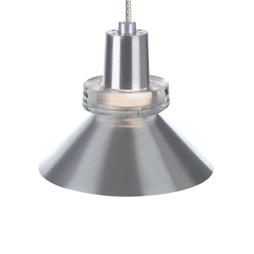 Tech Lighting Hanging Wok 1 Light Two-Circuit Monorail Pendant