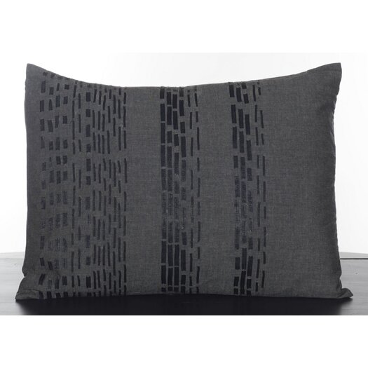 Vera Wang Pom Pom Interrupted Lines Decorative Pillow