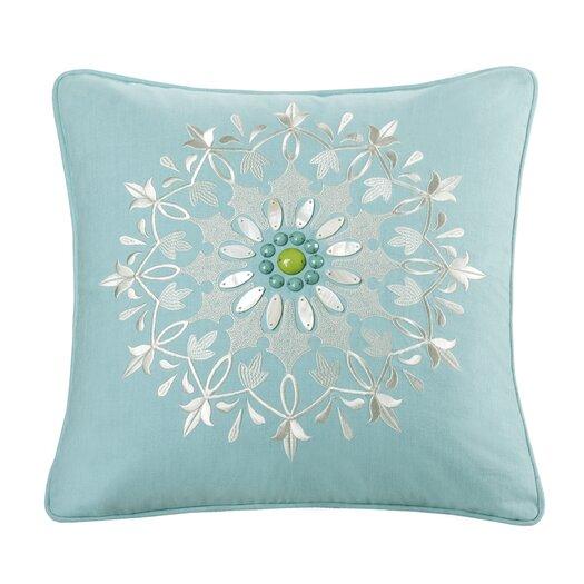 echo design Sardinia Cotton Square Pillow