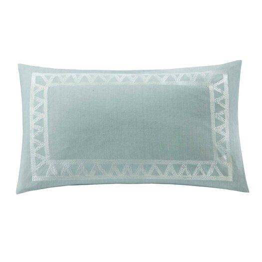 echo design Mykonos Cotton Linen Oblong Pillow
