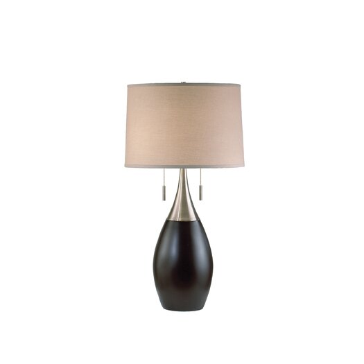 "Nova Pure 30"" H Table Lamp with Drum Shade"