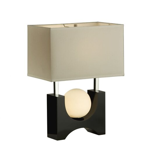 """Nova Golden Gate 22"""" H Table Lamp with Rectangle Shade"""