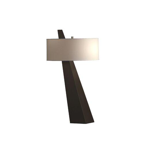 "Nova Obelisk 31"" H Table Lamp with Drum Shade"
