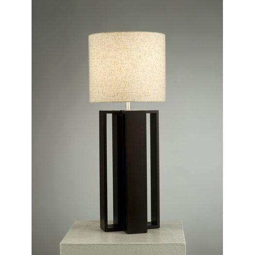 "Nova Hagen 31"" H Table Lamp with Drum Shade"