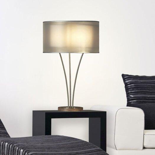 "Nova Teton 28"" H Table Lamp with Drum Shade"
