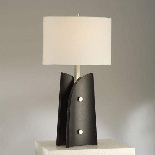 "Nova Sail 28"" H Table Lamp with Drum Shade"