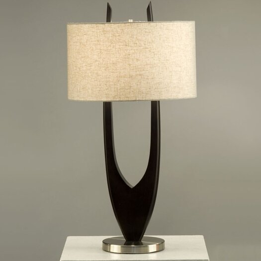 "Nova Matilda 31"" H Table Lamp with Drum Shade"