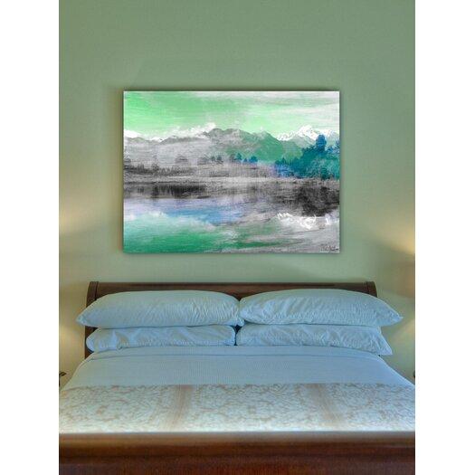 Jen Lee Art Mountain High Canvas Art
