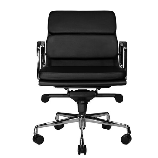 Wobi Office Clyde Low-Back Leather Chair